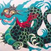 Zhi Shui Zhi Shen, Water God in dragon form
