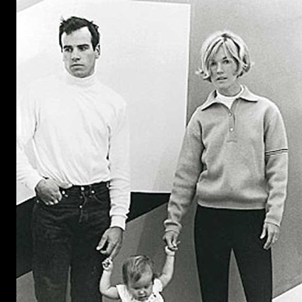 Portrait of Susie and Doug Tompkins with their daughter