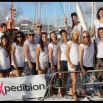 Exxpedition: November 2014 a crew of 14 women set sail across the Atlantic Ocean on a mission to make the unseen seen; from the toxics in our bodies to the toxics in our seas. Course: Lanzarote to Martinique.